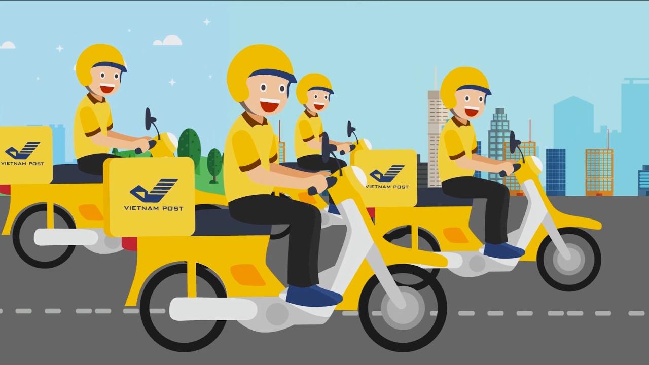 Vietnam post - Bưu điện Việt Nam