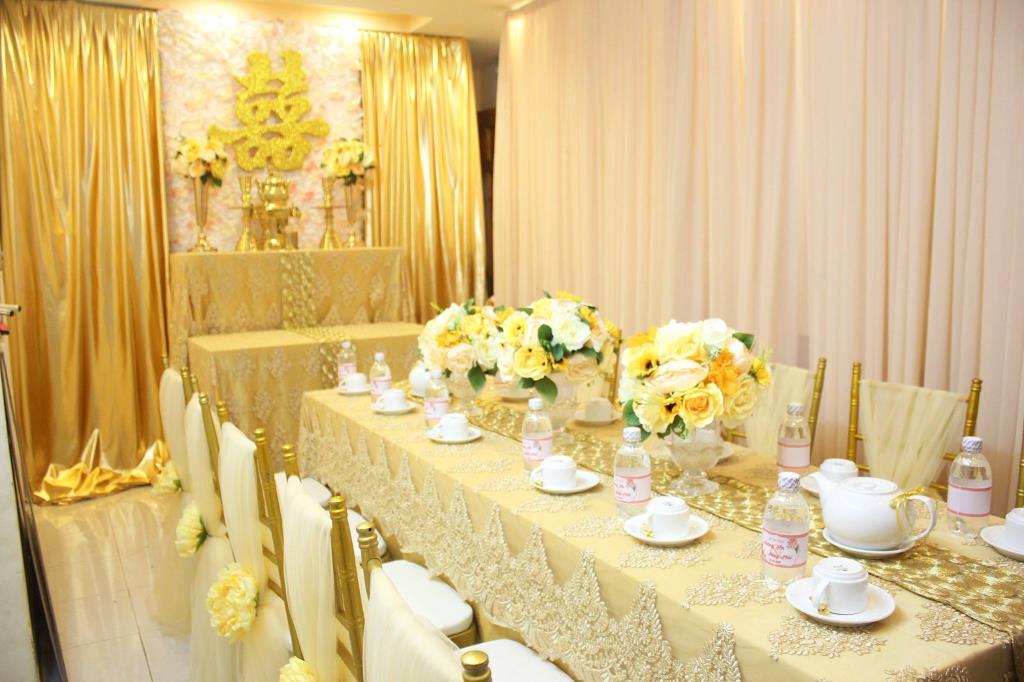 Top trung tâm trang trí tiệc cưới đẹp như mơ tại Biên Hòa