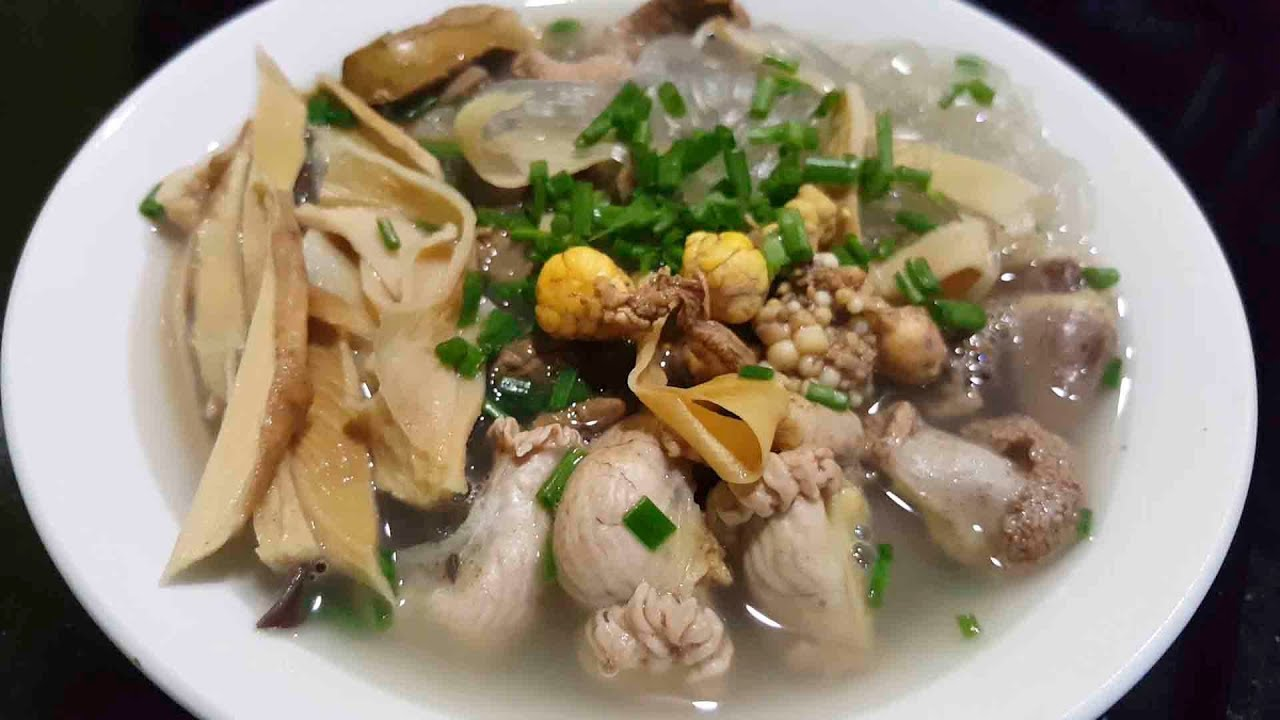 Bún, Miến Măng Gà - Quán miến gà tại Biên Hòa