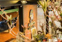 Quán cafe Army - Phong cách mỹ nguỵ
